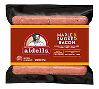 Aidells Smoked Chicken Sausage Breakfast Links Maple Smoked Bacon 8 Oz, 10 Fully Cooked Links