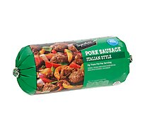 Signature SELECT Pork Sausage Roll Italian Style - 16 Oz