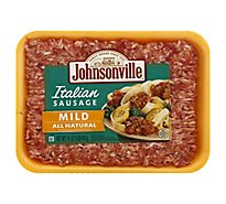 Johnsonville Sausage Ground Pork Italian Mild - 16 Oz