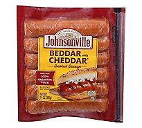 Johnsonville Sausage Smoked Beddar With Cheddar 6 Links - 14 Oz