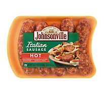 Johnsonville Italian Sausage Hot - 19 Oz.