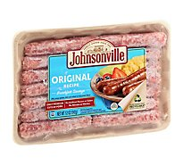 Johnsonville Breakfast Sausage Links Original Recipe 14 Links - 12 Oz