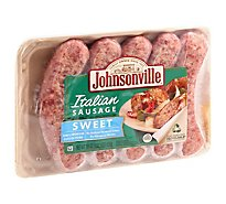Johnsonville Sausage Italian Sweet Basil And Spice Blend 5 Links - 19 Oz