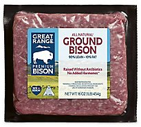 Great Range Bison Ground Bison - 16 Oz