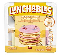 Lunchables Basic Ham & Swiss Cheese With Crackers - 3.2 Oz