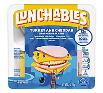 Oscar Mayer Lunchables Turkery & Cheddar with Crackers - 3.2 Oz.