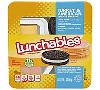 Oscar Mayer Lunchables Turkery & American Cracker Stackers - 3.4 Oz.