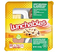 Lunchables Lunch Combinations Cracker Stackers Light Bologna & American - 3.1 Oz