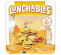 Lunchables Lunch Combinations Nachos Cheese Dip & Salsa - 4.4 Oz