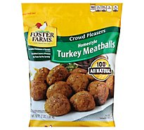 Foster Farms Turkey Meatballs Homestyle - 32 Oz