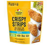 Foster Farms Chicken Strips Crispy - 24 Oz
