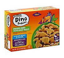 Yummy Chicken Breast Nuggets Dino Buddies Dinosaur Shaped - 3 Lb