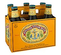 Anchor Steam Ale Beer Bottles - 6-12 Fl. Oz.