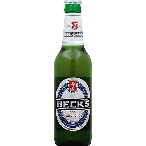 Becks Beer Non-Alcoholic Bottles - 6-12 Fl. Oz.