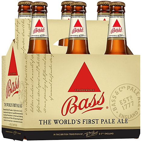 Bass Pale Ale Beer Bottles - 6-12 Fl. Oz.