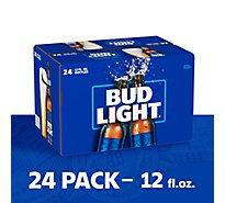 Bud Light Beer Bottle Longneck - 24-12 Fl. Oz.