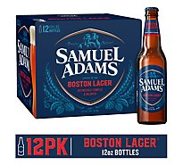 Samuel Adams Beer Boston Lager Bottles - 12-12 Fl. Oz.