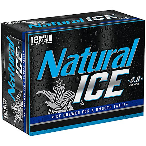 Natural Ice Beer Cans - 12-12 Fl. Oz.