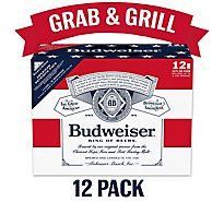 Budweiser Beer Can - 12-12 Fl. Oz.