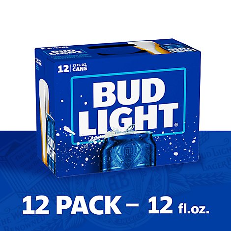 Bud Light Beer Can - 12-12 Fl. Oz.