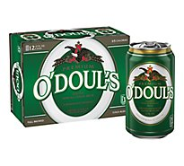 ODouls Malt Beverage Premium Non-Alcoholic Brew Extra Smooth Can - 12-12 Fl. Oz.