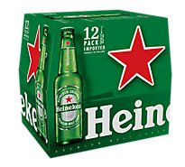 Heineken Premium Beer Lager Bottle - 12-12 Fl. Oz.
