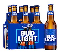 Bud Light Beer Bottle Longneck - 6-12 Fl. Oz.