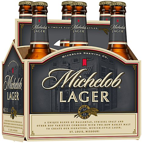 Michelob Beer Bottles - 6-12 Fl. Oz.