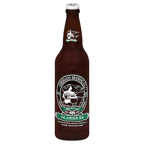 Coronado Islander India Pale Ale Beer Bottle - 22 Fl. Oz.