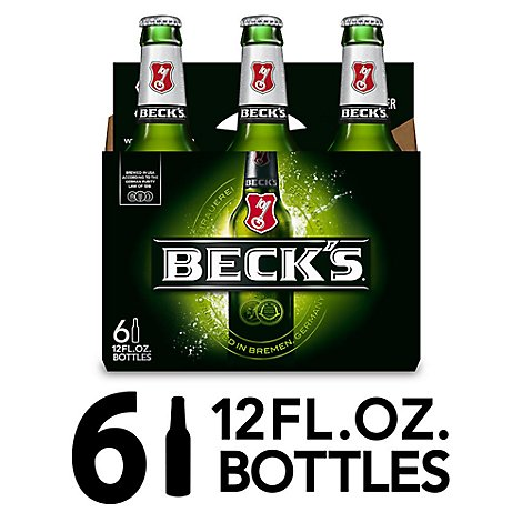Becks Beer Bottles - 6-12 Fl. Oz.