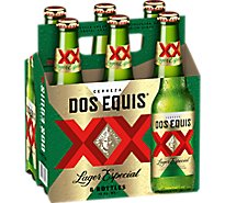 Dos Equis XX Beer Lager Especial - 6-12 Fl. Oz.