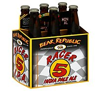 Bear Republic Racer 5 Bottled India Pale Ale Beer Bottles - 6-12 Fl. Oz.