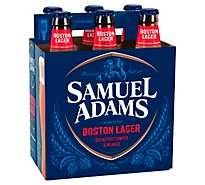 Samuel Adams Beer Boston Lager Bottles - 6-12 Fl. Oz.
