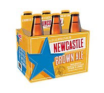 Newcastle Brown Ale Beer Bottles - 6-12 Fl. Oz.