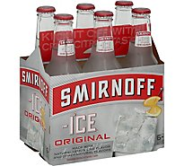 Smirnoff Ice Malt Beverage Premium Original - 6-11.2 Fl. Oz.