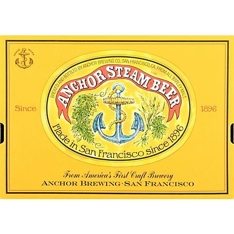Anchor Steam Ale Beer Bottles - 12-12 Fl. Oz.