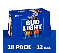 Bud Light Beer Bottle Longneck - 18-12 Fl. Oz.