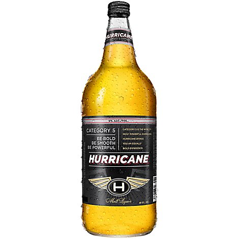 Hurricane High Gravity Lager Malt Liquor Bottle - 40 Fl. Oz.