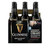 Guinness Draught Beer Bottle - 6-11.2 Fl. Oz.