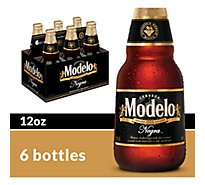 Modelo Negra Mexican Import Beer Bottles 5.4% ABV - 6-12 Fl. Oz.