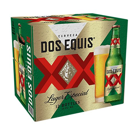 Dos Equis XX Beer Lager Especial - 12-12 Fl. Oz.