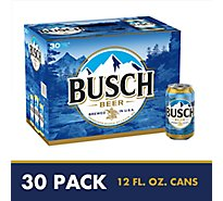 Busch Beer Can - 30-12 Fl. Oz.
