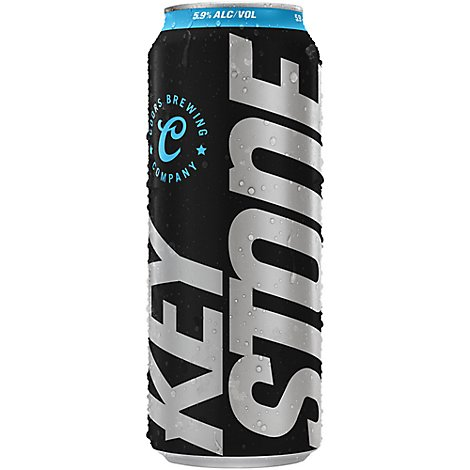 Keystone Ice Lager Beer Can 5.9% ABV - 24 Fl. Oz.
