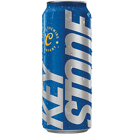 Keystone Light Beer Lager 4.1% ABV In Can - 24 Fl. Oz.