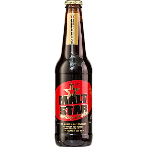 Malt Star Non-Alcoholic Beer Bottles - 6-11 Fl. Oz.