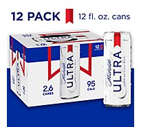 Michelob Ultra Beer Superior Light Slimcan - 12-12 Fl. Oz.
