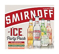Smirnoff Twisted V Party Pack Bottles - 12-11.2 Fl. Oz.