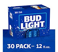 Bud Light Beer Cans - 30-12 Fl. Oz.