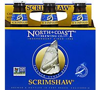 North Coast Scrimshaw Pilsner Beer Bottles - 6-12 Fl. Oz.