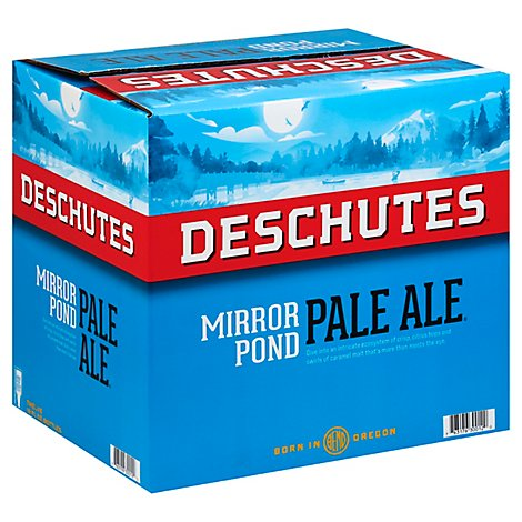 Deschutes Mirror Pond Pale Ale Beer Bottles - 12-12 Fl. Oz.